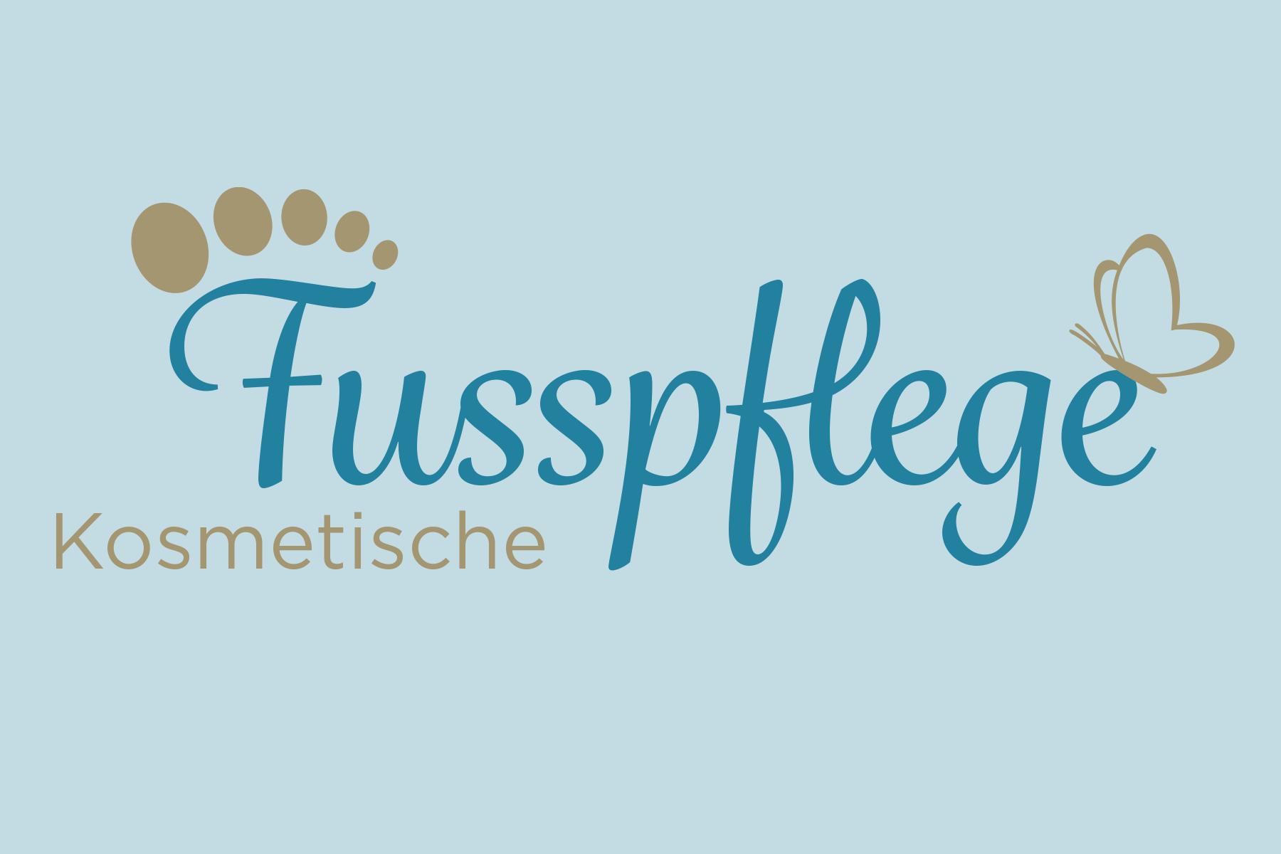 Logo fuer kosmetische Fusspflege